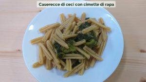Verdebios_biogastronomia_Caserecce_di_ceci_ con_cimtte_di_rapa